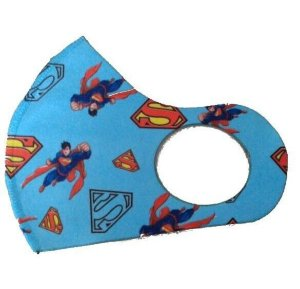 BELA CENTER Máscara Higiênica Lavável Infantil de Neoprene Super Homem