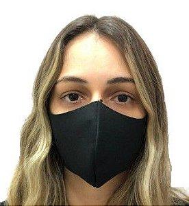MERCÊ Máscara Higiênica Lavável em Neoprene Preto