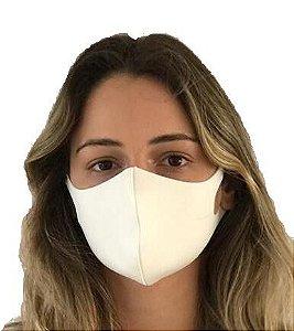 MERCÊ Máscara Higiênica Lavável em Neoprene Branca