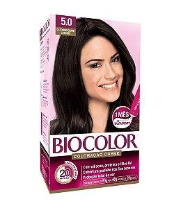BIOCOLOR Coloração Permanente Kit 5.0 Castanho Claro Luxuoso