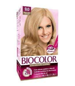 BIOCOLOR Coloração Permanente Kit 9.0 Super Loiro Abusado
