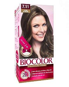 BIOCOLOR Coloração Permanente Kit 7.11 Louro Glamour