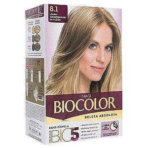 BIOCOLOR Coloração Permanente Kit 8.1 Louro Acinzentado Estiloso
