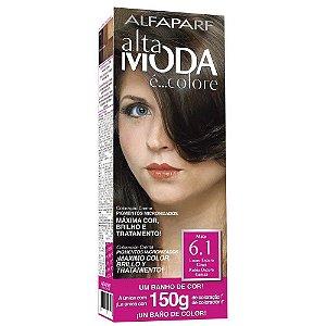 ALTA MODA é ... Colore Coloração Permanente 6.1 Louro Escuro Cinza