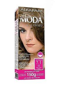 ALTA MODA é ... Colore Coloração Permanente 7.1 Louro Cinza