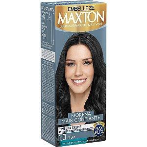 MAXTON Coloração Permanente Kit 1.0 Preto