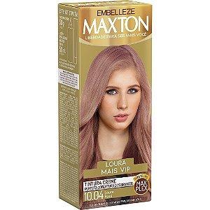MAXTON Coloração Permanente Kit 10.04 Louro Rosé