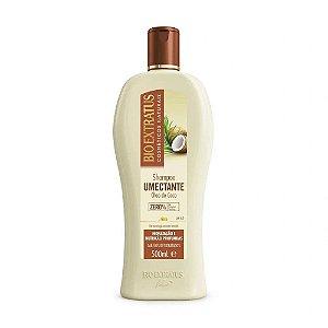 BIO EXTRATUS Umectante Shampoo Óleo de Coco 500ml