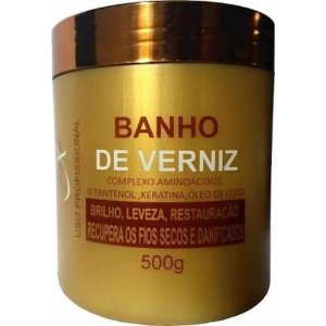 NAXOS Banho de Verniz Máscara Capilar Hidratante 500g