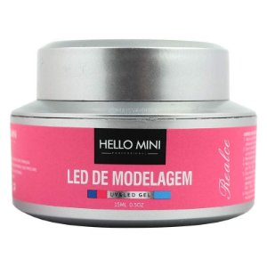 HELLO MINI LED de Modelagem UV/LED Gel Realce Pink 06 15ml