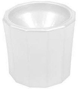 SANTA CLARA Dappen Plástico Branco (4543)