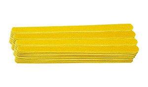 SANTA CLARA Lixa para Unhas Canário Amarela Especial 144un (192)