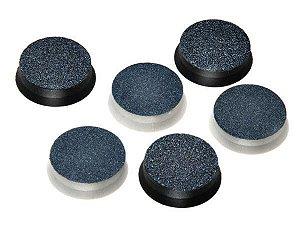 MEGA BELL Lixa para Pedicuro Profissional com 6 lixas finas e 6 grossas (MB-23)