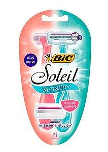 BIC Aparelho de Depilação Soleil Sensitive 2un