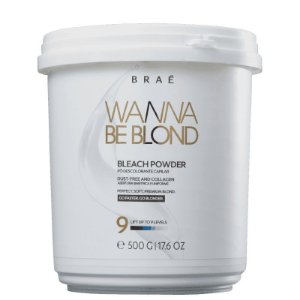 BRAÉ Wanna Be Blond Pó Descolorante Beach Powder 900ml