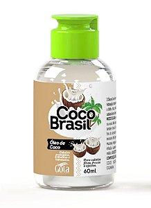 GOTA DOURADA Coco Brasil Oléo Capilar de Coco 60ml