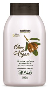 SKALA Desodorante Corporal Hidratante Vegano de Óleo de Argan 500ml
