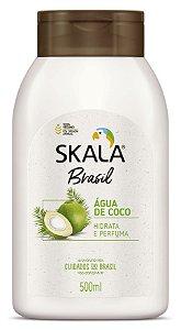 SKALA Desodorante Corporal Hidratante Vegano de Água de Coco 500ml