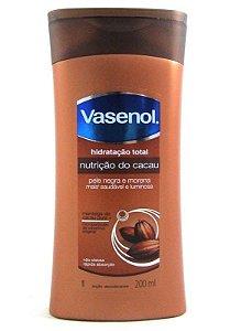 VASENOL Nutrição do Cacau Loção Desodorante Hidratante Corporal 200ml