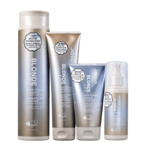 JOICO Blonde Life Kit Shampoo 300ml + Condicionador 250ml + Máscara Capilar + Leave-in 150ml