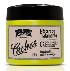 YAMA Yamasterol Cachos Máscara Capilar de Tratamento 500g (vencimento 10/20)