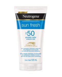 NEUTROGENA Sun Fresh Protetor Solar FPS 50 120ml