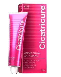 CICATRICURE Creme Facial Antissinais 60g