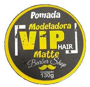 VIP HAIR Pomada Modeladora Barber Shop Matte 130g