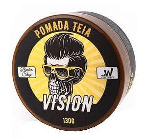 VISION Pomada Modeladora Barber Shop Efeito Teia 130g