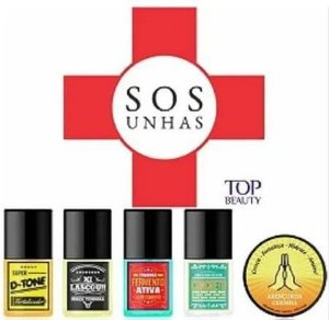 TOP BEAUTY SOS Unhas Tratamento Completo