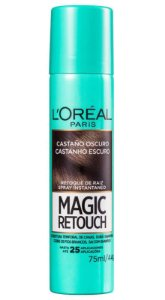 L'ORÉAL Paris Retoque de Raiz Magic Retouch Castanho Escuro Spray 75ml