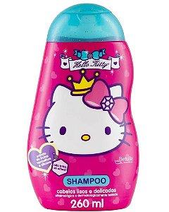 HELLO KITTY Shampoo para Cabelos Lisos e Delicados 260ml