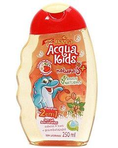 ACQUA KIDS Naturals Shampoo 2 em 1 Vegano com Extrato de Uva e Aloe Vera 250ml (vencimento 10/20)