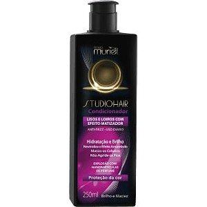 MURIEL Studio Hair Lisos e Loiros com Efeito Matizador Condicionador 250ml