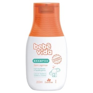 BEBÊ VIDA Shampoo Sem Lágrimas 200ml