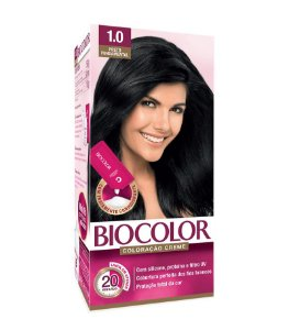 BIOCOLOR Coloração Permanente Mini Kit 1.0 Preto Fundamental