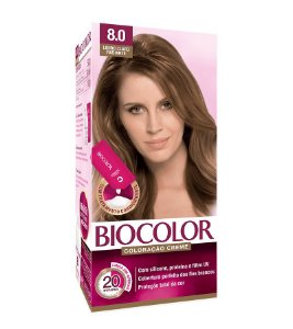 BIOCOLOR Coloração Permanente Mini Kit 8.0 Loiro Claro Radiante