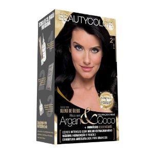 BEAUTYCOLOR Coloração Permanente Kit 2.0 Preto
