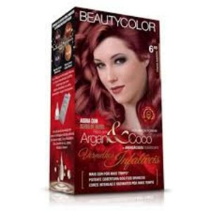 BEAUTYCOLOR Coloração Permanente Kit 6.66 Charme Supremo