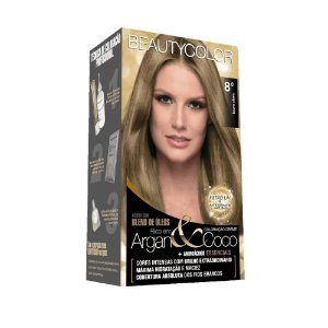 BEAUTYCOLOR Coloração Permanente Kit 8.0 Loiro Claro