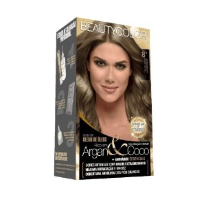BEAUTYCOLOR Coloração Permanente Kit 8.1 Loiro Claro Acinzentado