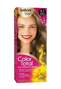 COLOR TOTAL Coloração Permanente Kit 8.1 Loiro Claro Acinzentado