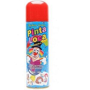 PINTA LOCA Spray para Tintura Decorativa do Cabelo Vermelho 150ml