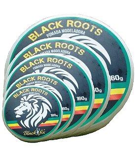 BLACK FIX Pomada Modeladora Black Roots 160gx12un Kit