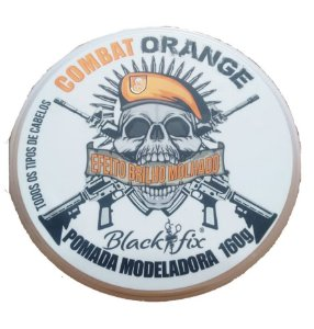 BLACK FIX Pomada Modeladora Combat Orange 160g