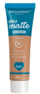BROADWAY Base Líquida Deu Matte C04 29ml