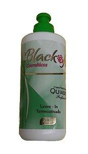 BLACK FIX Extrato de Quiabo Creme para Pentear Termoativado 200g