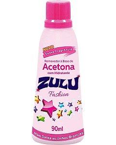ZULU Removedor de Esmalte à Base de Acetona com Hidratante Fashion 90ml