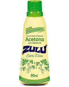 ZULU Removedor de Esmalte à Base de Acetona com Hidratante com Erva Doce 90ml