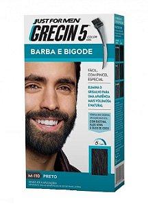 GRECIN5 Color Gel Tonalizante para Barba e Bigode Preto M-110